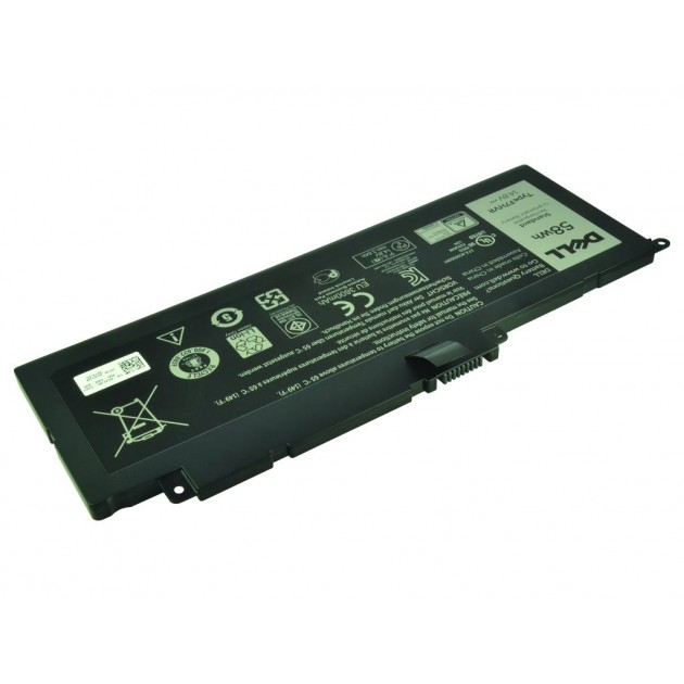 Image of 451-BBFS batteri til Dell Latitude E7440 (Original) 6350mAh