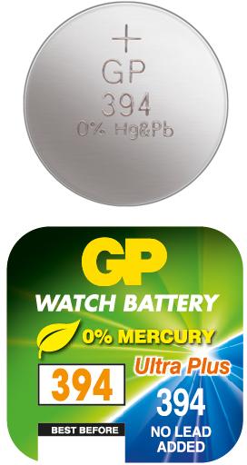 Billede af GP 394 A1 - SR936SW - 1,55 V Silver Oxide batteri
