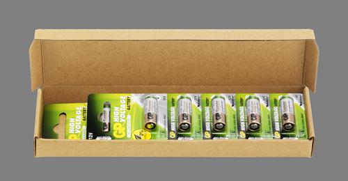 10 stk. GP 23A 12 volt Alkaline batteri