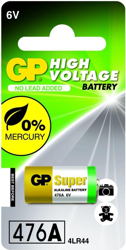 Billede af GP 476A / 4LR44 6 Volt Alkaline batteri