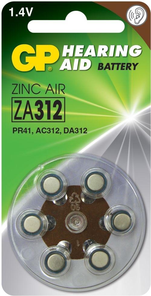 Billede af GP ZA312 1,4 V batterier