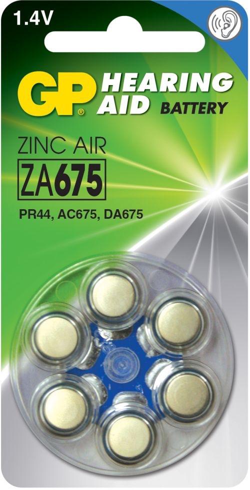 Billede af GP ZA675 1,4 V batterier