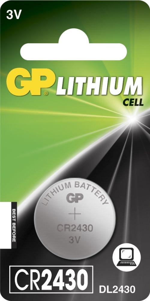 Billede af CR 2430 3 Volt Lithium batteri