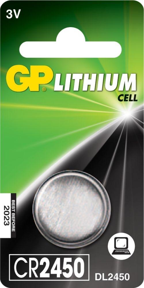Billede af CR 2450 3Volt Lithium batteri