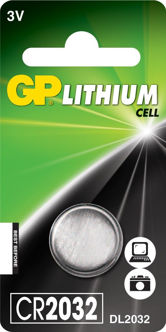 Billede af CR2032 3 Volt Lithium batteri