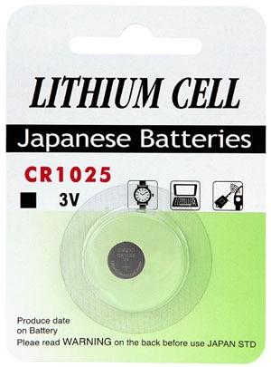 Billede af CR 1025 C1 3 Volt Lithium batteri