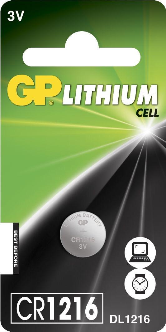 Billede af CR 1216 C1 3 V Lithium batteri