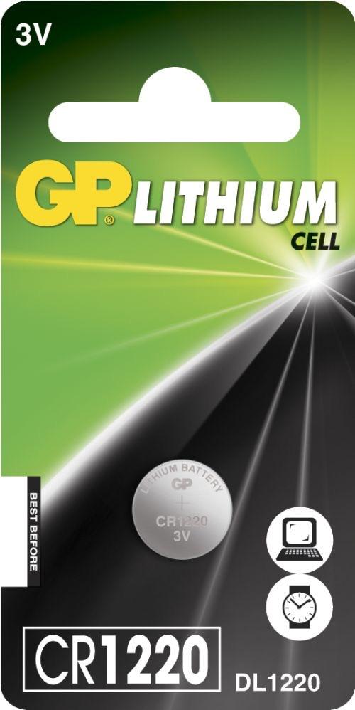 Billede af CR 1220 3 Volt Lithium batteri