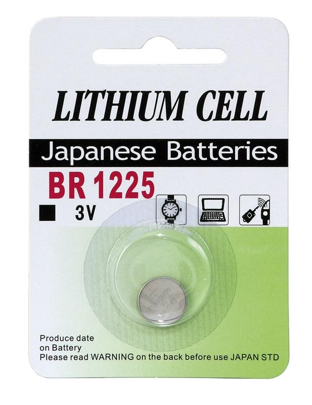 Billede af BR 1225 3 Volt Lithium batteri