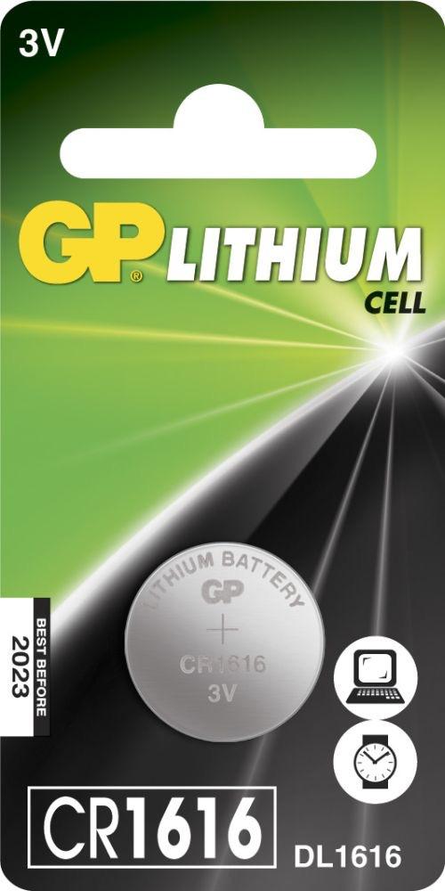 Billede af CR 1616 3 Volt Lithium batteri