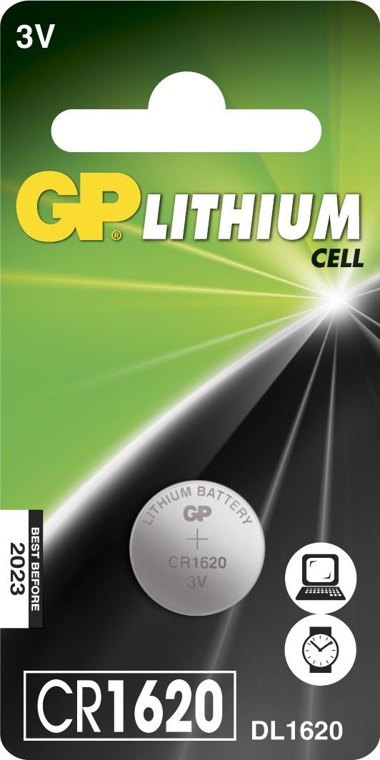 Billede af CR 1620 3 Volt Lithium batteri