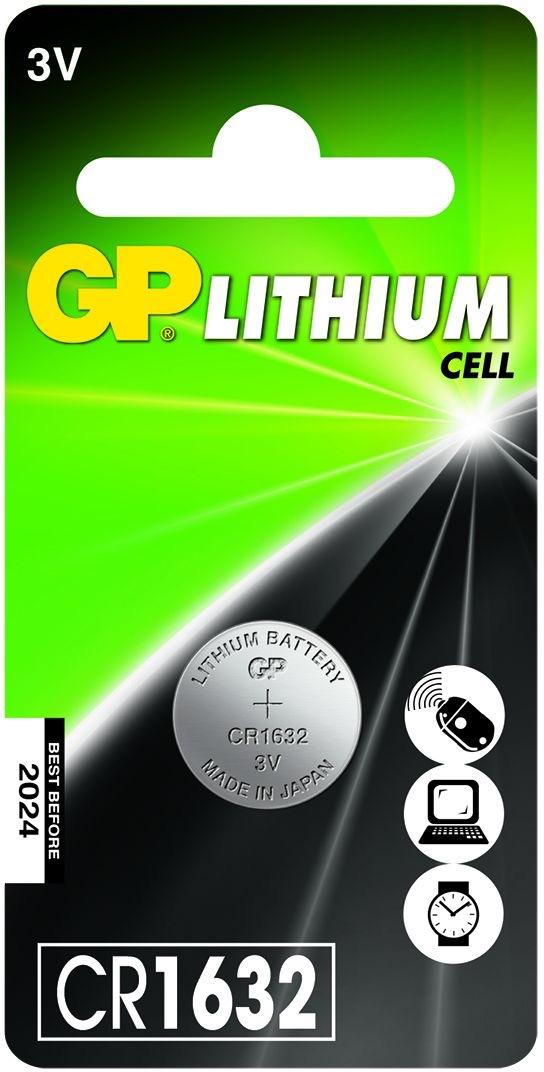 Billede af CR 1632 3 Volt Lithium batteri