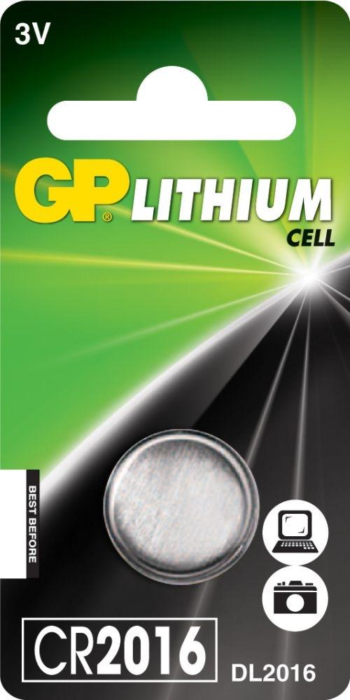 Billede af CR 2016 3 Volt Lithium batteri