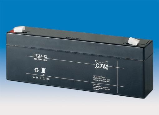 Billede af 12 volt 2,1 Ah. bly batteri