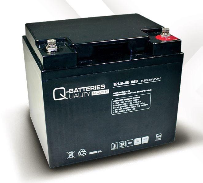 Billede af 12 volt 45 Ah. bly batteri