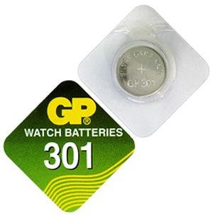 Billede af GP 301 A1 - SR43SW - 1,55 V Silver Oxide batteri