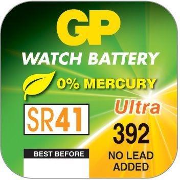 Billede af GP 392 / GP 384 A1 - SR41W - 1,55 V Silver Oxide batteri