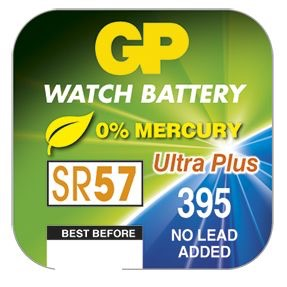 Billede af GP 395 / GP 399 A1 - SR927SW - 1,55 V Silver Oxide batteri