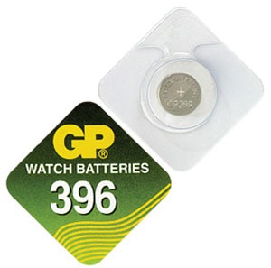 Billede af GP 396 A1 - SR726W - 1,55 V Silver Oxide batteri