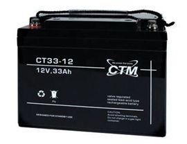 Billede af 12 volt 33 Ah. bly batteri