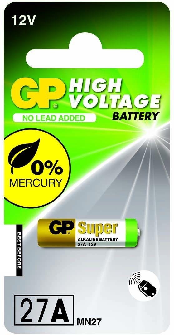 Billede af GP 27A 12 volt Alkaline batteri