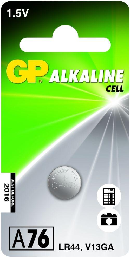 Billede af GP A76 / LR44 / LR1154 / AG13 Alkaline batteri