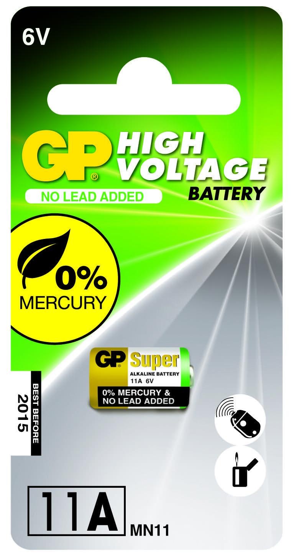 Billede af GP 11A -FC1 Alkaline batteri