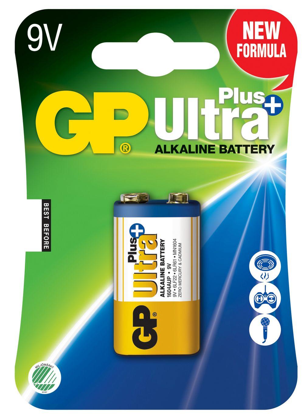 Image of GP 9 V Ultra Plus batteri