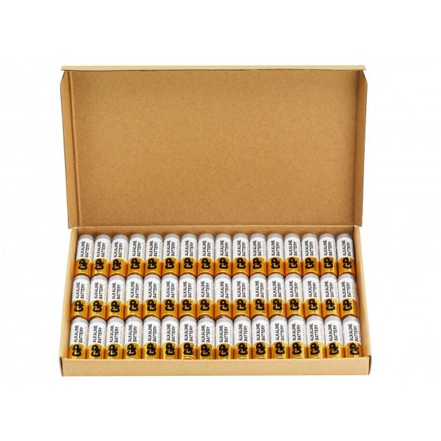 48 stk. GP AA Super Alkaline batterier - Tilbudspakke