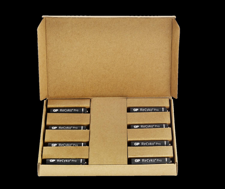 8 stk. GP ReCyko Pro AAA 850 mAh - Tilbudspakke