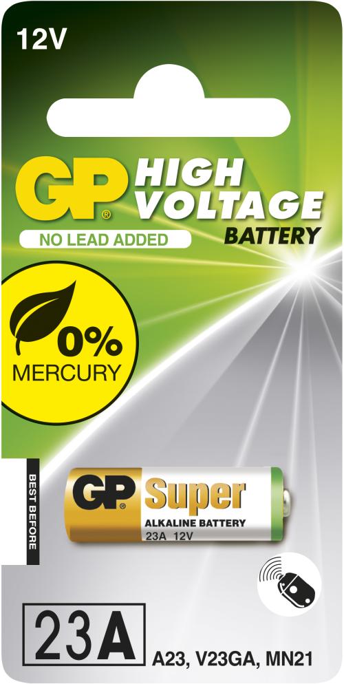 Billede af GP 23A 12 volt Alkaline batteri