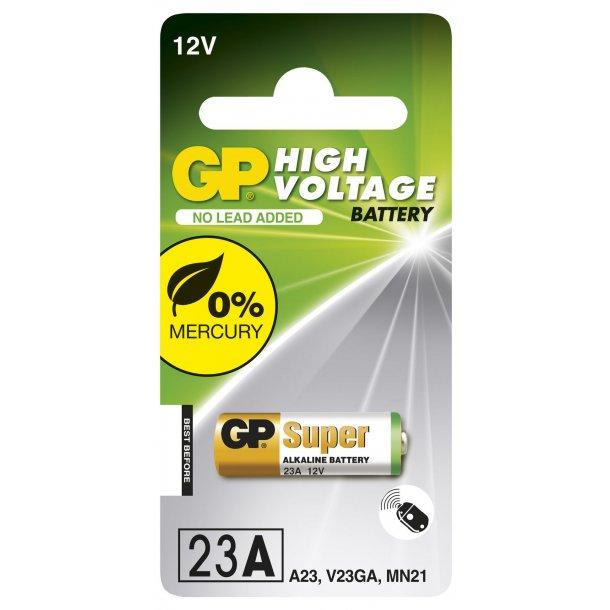 Strålande 23A 12 volt Alkaline batteri til fjernbetjeninger KO-53