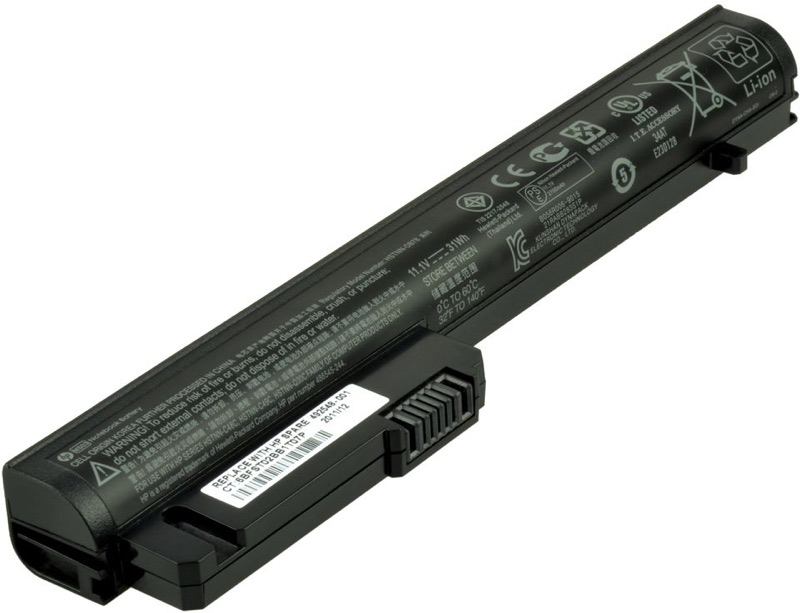 Image of   492548-001 batteri til HP EliteBook 2540P (Original) 2800mAh