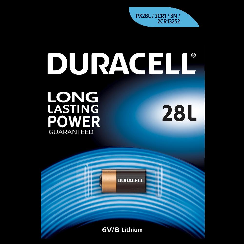 Duracell 28L / 4LR44 6 Volt Lithium batteri