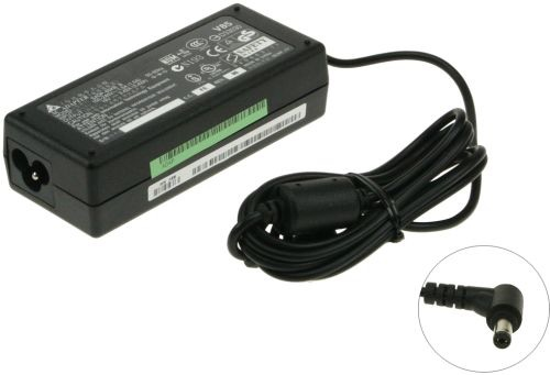 Image of AC Adapter 65W, 19V 3.42A includes power cable