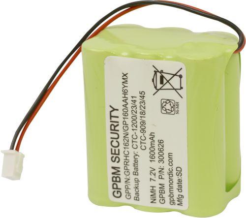 Billede af GP160AAH6YMX batteri, Passer til alarmsystem CTC-1200/23/41 CTC-909/18/23/45
