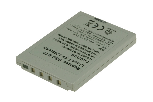 Image of   Camcorder Battery 7.4V 1200mAh