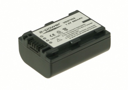Image of   Camcorder Battery 7.2V 750mAh