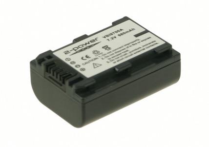 Billede af Camcorder Battery 7.2V 750mAh
