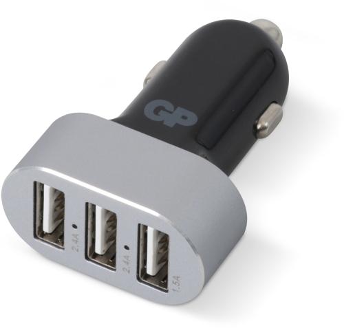 Billede af USB billader med 3 USB udgange - 6,3A