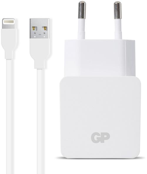 Billede af GP Vægadapter WA23 + Apple Lightning-kabel (CB21)