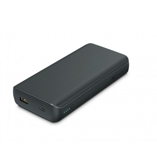 GP PowerBank 20.000 mAh. Kan også oplade en bærbar PC