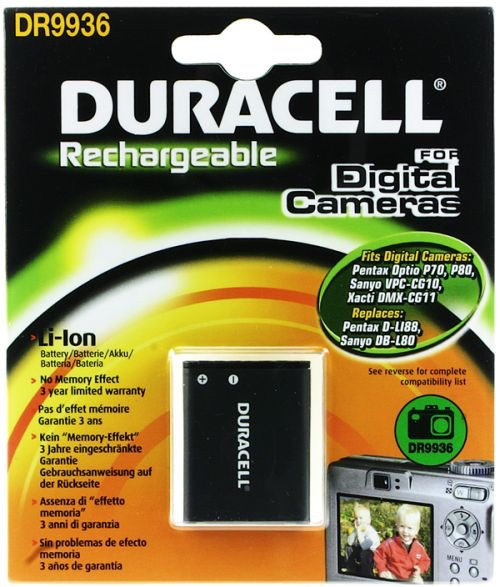 Image of   Digital Camera Battery 3.7v 670mAh 2.5Wh