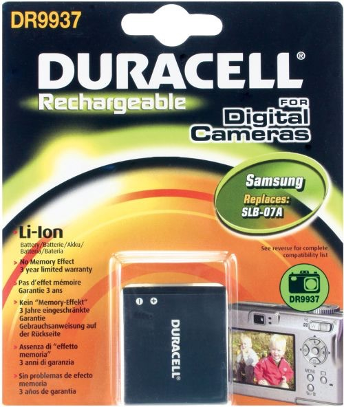 Image of   Digital Camera Battery 3.7v 700mAh 2.6Wh