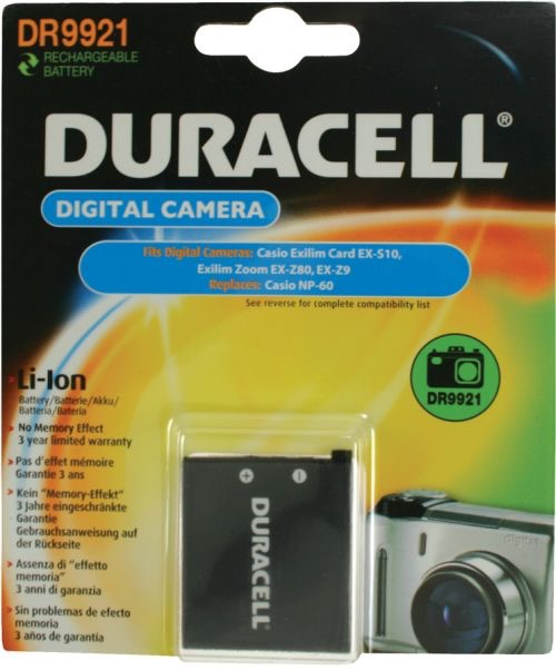 Image of   Digital Camera Battery 3.7V 600mAh 3.9W