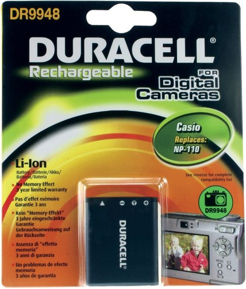 Image of   Digital Camera Battery 3.7V 820mAh 3.0Wh