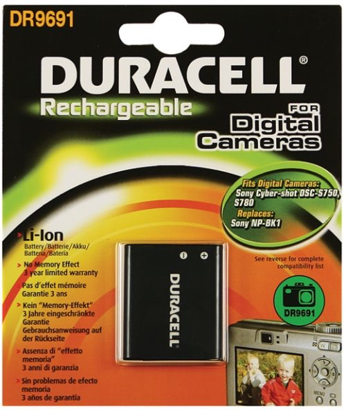 Image of   Digital Camera Battery 3.7v 770mAh 2.8Wh