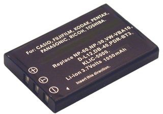 Image of   Digital Camera Battery 3.7V 1150mAh