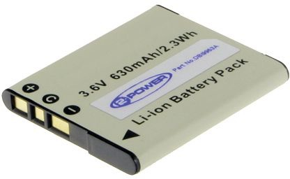 Image of   Digital Camera Battery 3.6V 630mAh