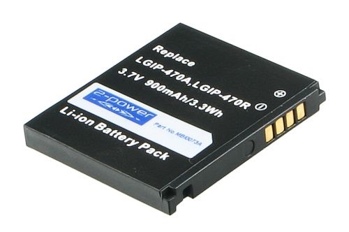 Image of   Mobile Phone Battery 3.7V 850mAh 3Wh